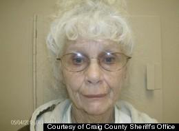 GANJA GRANNY: Darlene Mayes allegedly ran a drug ring stretching from Tulsa, Okla. to Arkansas, Missouri and Kansas.