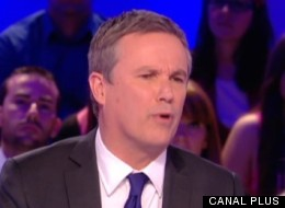 Nicolas Dupont-Aignan au Grand Journal le 13 avril