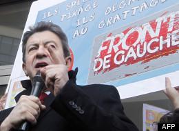 Jean-Luc Mélenchon à Paris le 13 avril