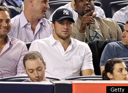 Tim Tebow was mostly booed at the Yankees game.