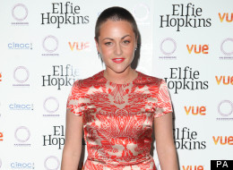 Jaime Winstone Shows Off Her New Do At Premiere