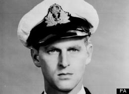 Prince Philip during WWII