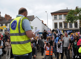 The April strikes are the second wave to hit Nottingham schools, after teachers walked out in November over pensions