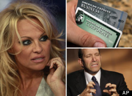 Among those on states' cyber-shame lists are Pamela Anderson, American Express and Cantor Fitzgerald (whose CEO Howard Lutnick is shown).