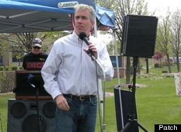 U.S. Rep. Joe Walsh in Huntley, Ill., Saturday.