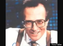 Broadcast legend Larry King was caught on tape many years ago, giving a nonsensical rant to a young journalism student eager for advice.