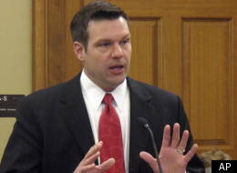 Immigration hard-liner and Arizona immigration law architect Kris Kobach.