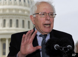 Sen. Bernie Sanders spoke at an April 18 event highlighting efforts by grassroots organizers to push for an anti-Citizens United amendment.