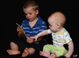 Ten-month old Connor McConnell (right) and his three-year-old brother Jayden are shown in an undated photo taken from a Facebook tribute page. A judge will render a verdict Friday for Allyson McConnell, their mother, who admits to drowning her two young sons in her bathtub. (HO/CP)