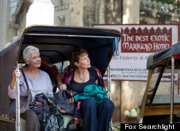 Judi Dench & Bill Nighy are adorable in 'Best Exotic Marigold Hotel' clip