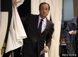 François Hollande le 22 avril 2012