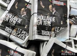 La Une de Libération le 23 avril 2012