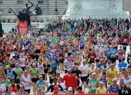 The deceased marathon runner has not yet been identified