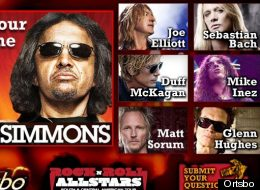 Catch your favourite rock gods live in conversation