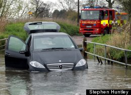 Flooding warnings have been issued for the UK