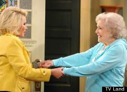 Betty White and Joan Rivers argue in