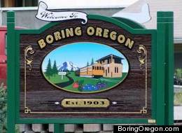 An unlikely partnership is in the works between Dull, Scotland and Boring, Oregon