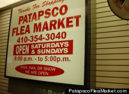 A Homeland Security investigation led to a raid at the Patapsco Flea Market in Baltimore over the weekend.
