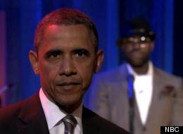 Barack Obama a fait un slam au «Late Night Show».