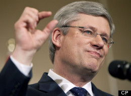 Stephen Harper says his government has prepared ``contingency plans'' just in case Canada is forced to contend with a second global recession. CP