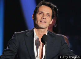 Marc Anthony en los Premios Billboard Latino 2012