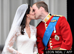 Le Prince William et sa femme Kate, le 29 avril 2011