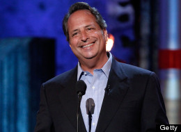 Comedian Jon Lovitz speaks onstage at Comedy Central's Roast of Charlie Sheen held at Sony Studios on September 10, 2011 in Los Angeles, California. (Photo by Christopher Polk/Getty Images)