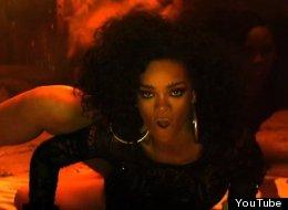 Rihanna breaks it down in the video for