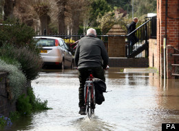 This month is the UK's wettest April in records dating back more than 100 years to 1910, the Met Office said on Monday.