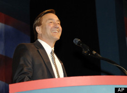 Rep. Rick Berg (R-N.D.) speaks at the North Dakota GOP Convention.