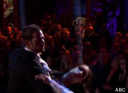 William Levy junto a Cheryl Burke en un vals