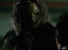Killer zombie on
