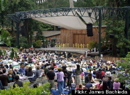 A crowd at Stern Grove watches the San Francisco Ballet perform in 2007.