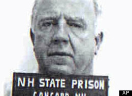 This black and white inmate booking photo released by the New Hampshire Department of Corrections shows William P. Coyman, of Boston, who had been sentenced to prison for theft and drug possession.