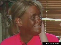 Patricia Krentcil denies that she brought her daughter into a tanning booth.