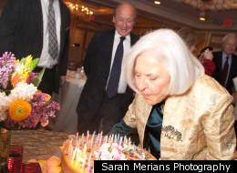 Deborah Szekely, 90, celebrates her birthday today.