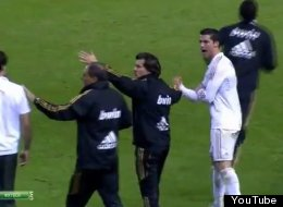 Ronaldo insults Martinez after the final whistle