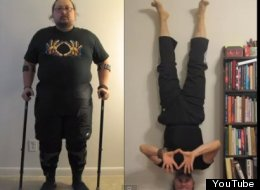 A disabled war veteran was disabled for 15 years until he discovered yoga
