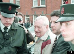Brendan Smyth (centre) admitted to sexually abusing children