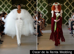 Would you wear any of these offbeat bridal looks?
