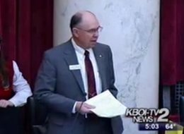 State Sen. Chuck Winder (R-Idaho) said women could lie about having been raped in order to get an abortion.