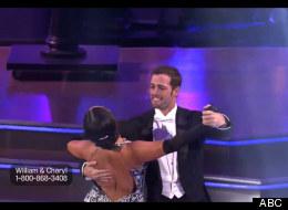 William Levy en la semana ocho de Dancing with the Stars por ABC.