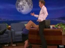 Nina Dobrev shows off her sexy yoga moves on