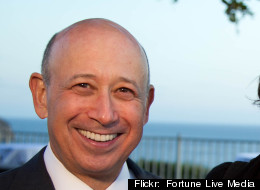 Goldman Sachs CEO Lloyd Blankfein. Goldman Sachs traders lost money on just one day during the first quarter of 2012, according to Bloomberg News.