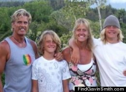 A photo of Gavin Smith and his family from FindGavinSmith.com