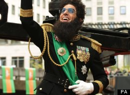 The Dictator has finally made it to screen