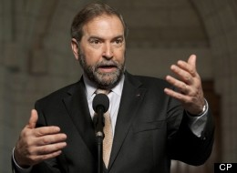 The Conservatives continued to hammer NDP Leader Thomas Mulcair Friday, suggesting he is pitting the Prairies against Ontario and Eastern Canada. (CP)