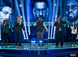 Will.i.am sang with his whole team on this weekend's edition of The Voice