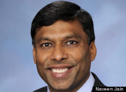 Naveen Jain, the CEO of Intelius, pays his staff up to $100,000 for new ideas.