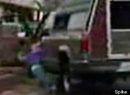 Woman runs herself over with her own truck on